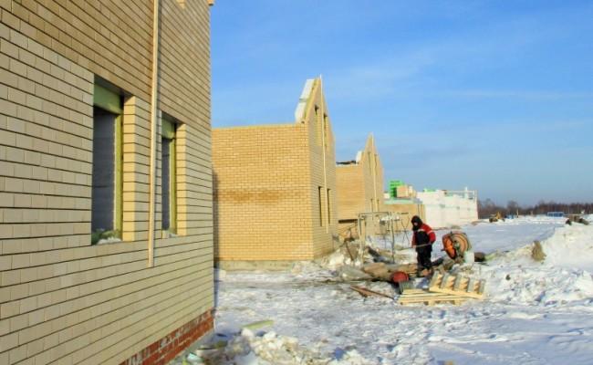 Работы в коттеджном посёлке Нижегородская область